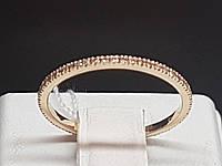 Золотое кольцо с фианитами. Артикул 700067