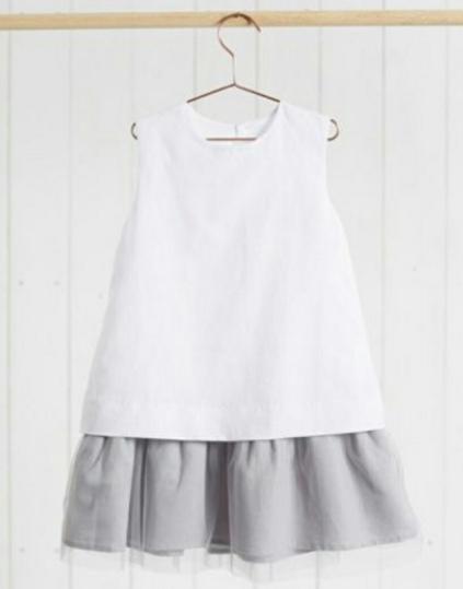 Детское платье - с воланом