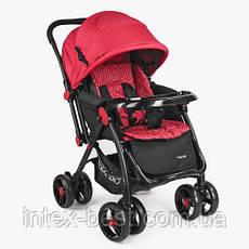 Прогулочная коляска Bambi (M 3655-3) Красная, фото 2