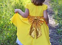 Нарядное детское платье - Хлопок + Фатин, фото 3
