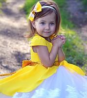 Нарядное детское платье - Хлопок + Фатин, фото 5