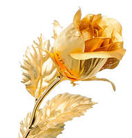 Позолоченная Роза сусальное золото GL-RC-001