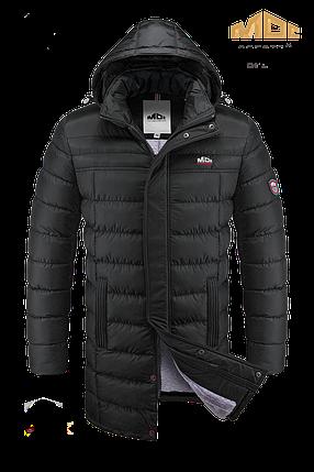 Мужская зимняя куртка удлиненная МОС арт. 0030, фото 2