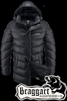 Мужская удлиненная зимняя куртка Braggart Aggressive арт. 1377, фото 2