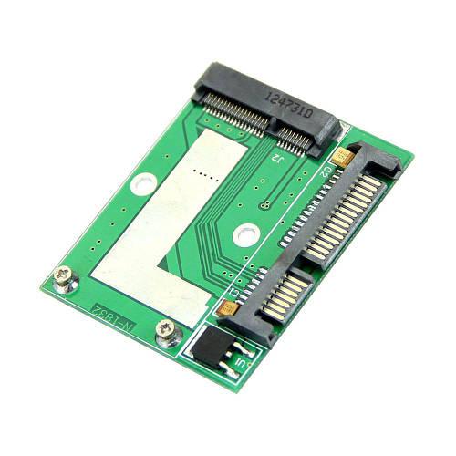 Адаптер mSATA mini PCI-E на SATA 2.5 для подключения SSD дисков