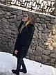 """Женская жилетка из натурального меха лисы """"Шеврон"""", фото 4"""