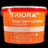 "Кварц-грунт под штукатурку ""TRIORA"" 3,0 л"