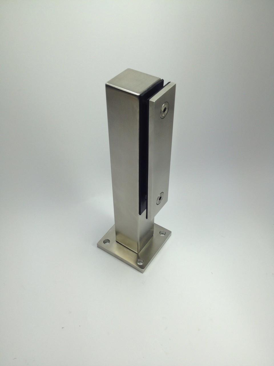 ODF-02-06-01-H250  Стойка для перил из стекла высотой 250 мм с прижимной планкой