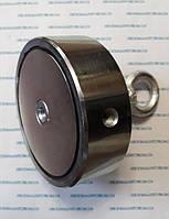 Поисковый двусторонний неодимовый магнит на 400 кг Польша