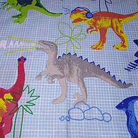 Бязь Gold Динозавры 220 см розница