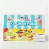 Набор пластилина Ice-Cream house, Kids Dough