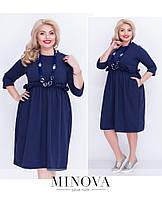 Платье бочонок 42-50 размеры