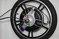 Мотор колесо 48V 350W в сборе для электровелосипеда CITI CAT 2, СИТИ КЭТ 2