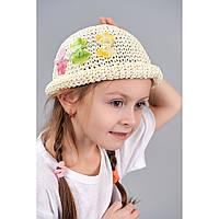 Панамка детская плетенка ассорти