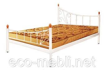 Півтораспальне ліжко Каліпсо два бильця Метал Дизайн