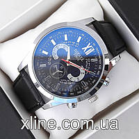 Мужские наручные часы Diesel M72 на кожаном ремешке
