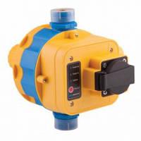 Автоматика для насосов с защитой от сухого хода пресс контроль LS-8R c розеткой WOMAR