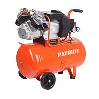 Компрессор Patriot VX50/402 (2,2 Квт, 400 л/мин, 50 л), двухпоршневой