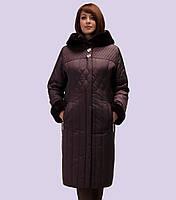 Женский зимний пуховик. Модель 122. Размеры 52-62