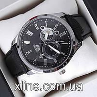 Мужские наручные часы Orient B308 на кожаном ремешке