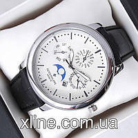 Мужские наручные часы Patek Philippe B310 на кожаном ремешке