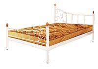 Двоспальне ліжко Каліпсо два бильця Метал Дизайн