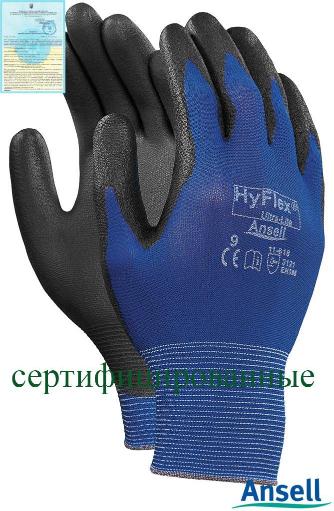 Захисні рукавички HyFlex 11-618 RAHYFLEX11-618 GB