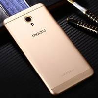 Задняя крышка для Meizu M3 Note (M681), золотистая, оригинал