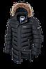 Мужская удлиненная зимняя куртка Braggart (р. 46-56) арт. 33877 графит