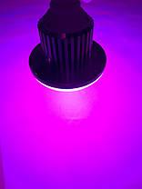 Светодиодная фито лампа 18W Е27 220V (fito spectrum led) Код.59207, фото 2