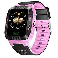 Детские Смарт часы Y21 Розовые