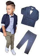 Модный нарядный детский костюм для мальчика