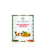 "Белый гриб в масле - ""Funghi porcini trifolati"" 850ml Italcarciofi Pastabella"