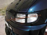 Накладки на передние фары (очки на фары) для Mercedes Vito W638 1996-2003