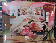 Комплект постельного белья евро размер,расцветки разные, оптом и в розницу S791