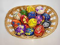 Яйца деревянные пысанка большие Пасхе