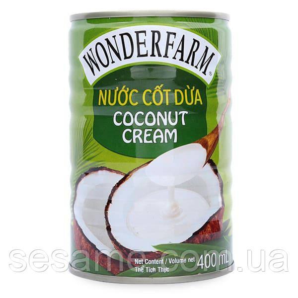 Кокосовый Крем натуральный Wonderfarm Coconut Cream 400ml (Вьетнам)