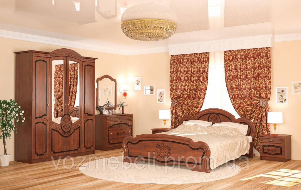 Спальня Барокко 4Д (МС)