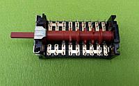 Переключатель девятипозиционный 890700K / 16А / 250V / Т150 для электроплит, электродуховок  7LA GOTTAK, Spain