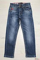 Джинсы для мальчика синего цвета с эмблемой (98 см.) A-yugi Jeans 2129000331599
