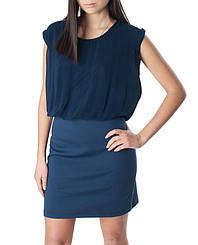 Женское платье синего цвета Kaffe, р. 40