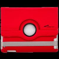 """9.7"""" LF-832RD Чехол с подставкой для iPad, планшета до 9.7"""" кожзам, красный  (2698)"""