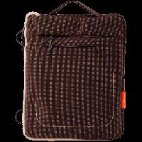 "9.7"" LF-016LG   Сумка для iPad, планшета, полиэстер, серо-коричневый (2443)"