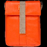 "10.1"" LF-1305 Плечевая сумка для планшета/нетбука  до 10,1"" кожзам, оранжевый (2720)"