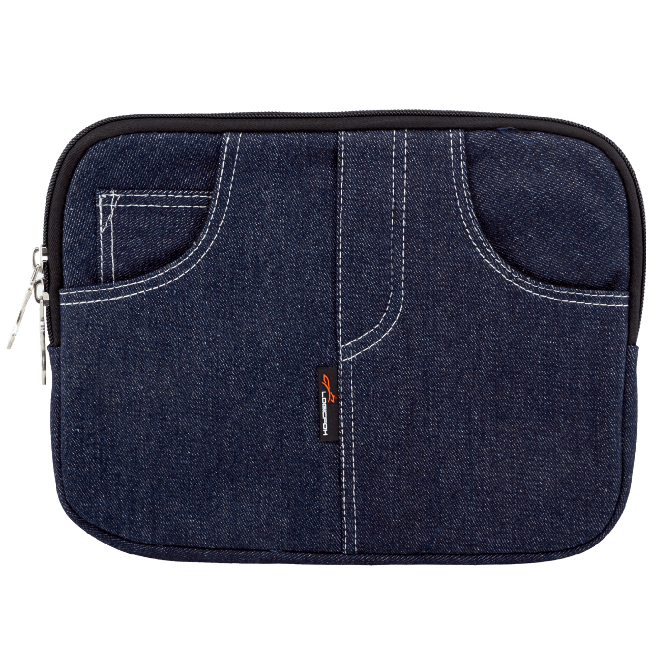 """10"""" LF-1006  Чехол для нетбука, планшета, iPad, джинс, синий, подкладка замш (2446)"""