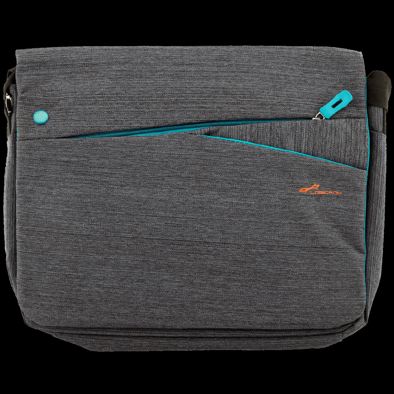 """13.3"""" LF-1310R Сумка для нетбука, планшета до 13.3"""" серый, плечевой ремень (2716)"""