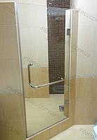 Стеклянная душевая дверь 0,7м*2м, прозрачное стекло