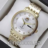 Мужские наручные часы Orient Automatic KL EM7M-CO-B CA на металлическом  браслете 82ec3e64904