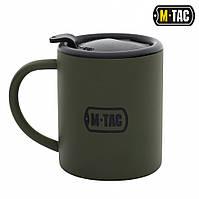 M-Tac термокружка 280 мл с крышкой олива
