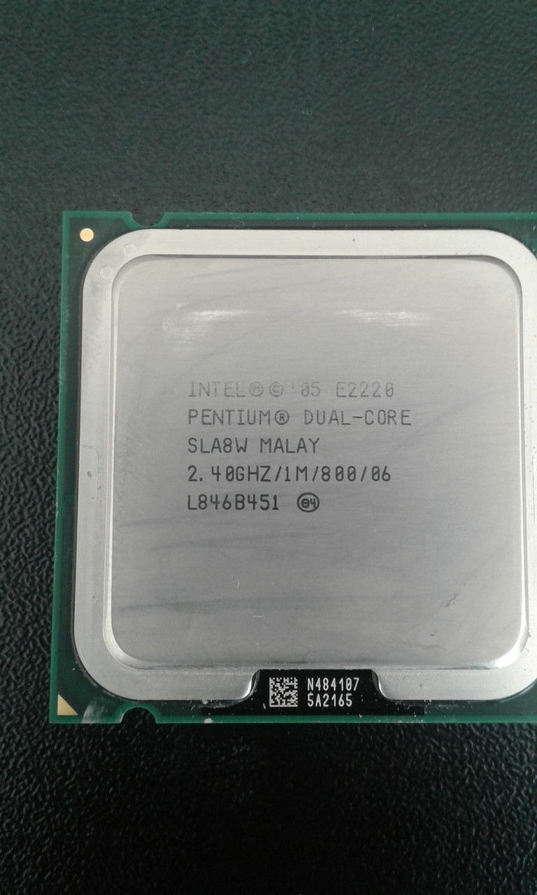 Процессор Е2220